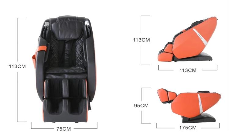 Everest massage chair dimensions