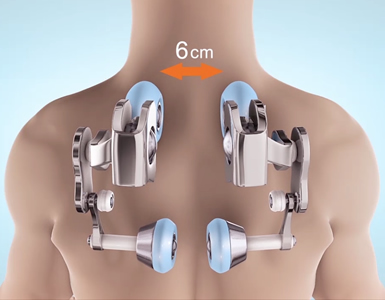 Massage range for Komoder KM500L