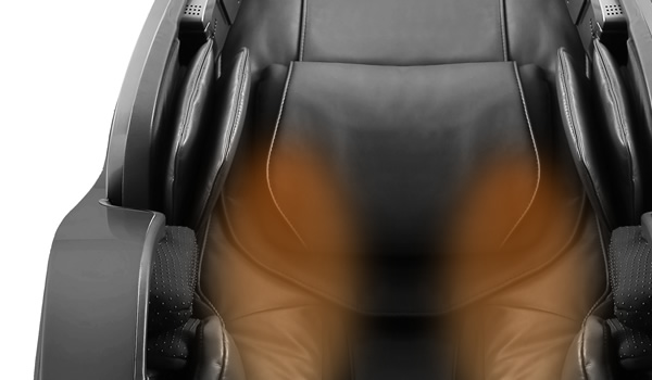 Lumbar heat therapy. Back Heating Function. LUXOR Massage Chair